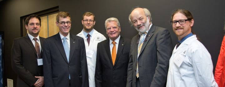 President of Germany, President Gauck visited CERC team